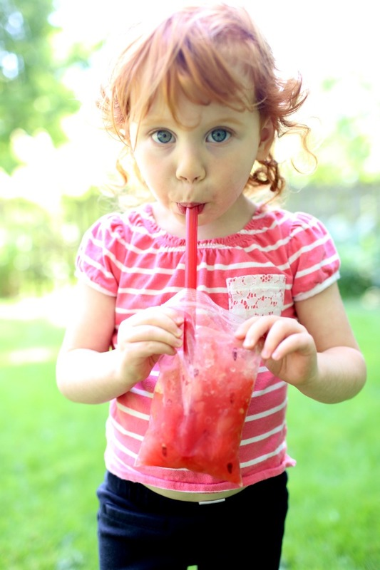 Watermelon Slushies for Toddlers