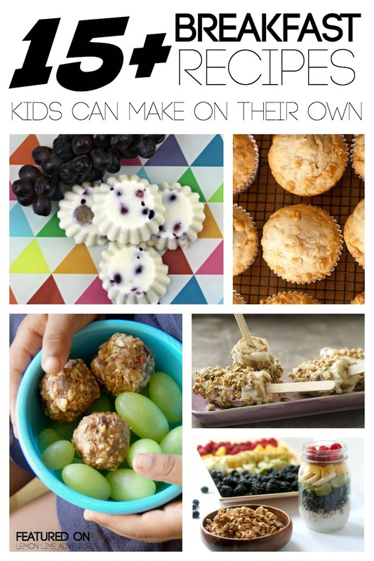15 Breakfast Recipes Kids Can Make Themselves