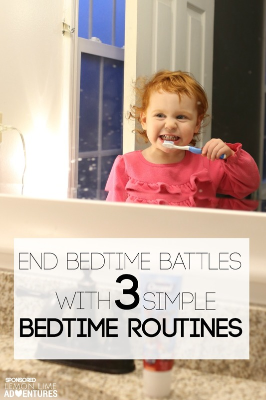 End Bedtime Batttles with 3 Simple Bedtime Routines for Toddlers