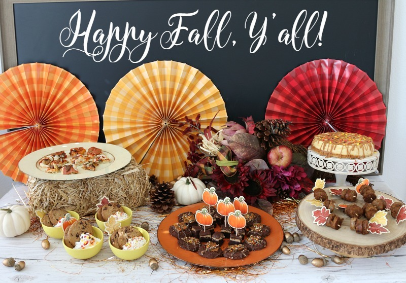 Fall Party Food Ideas - How to make store bought look and taste homemade so you can actually ENJOY the party over cooking!