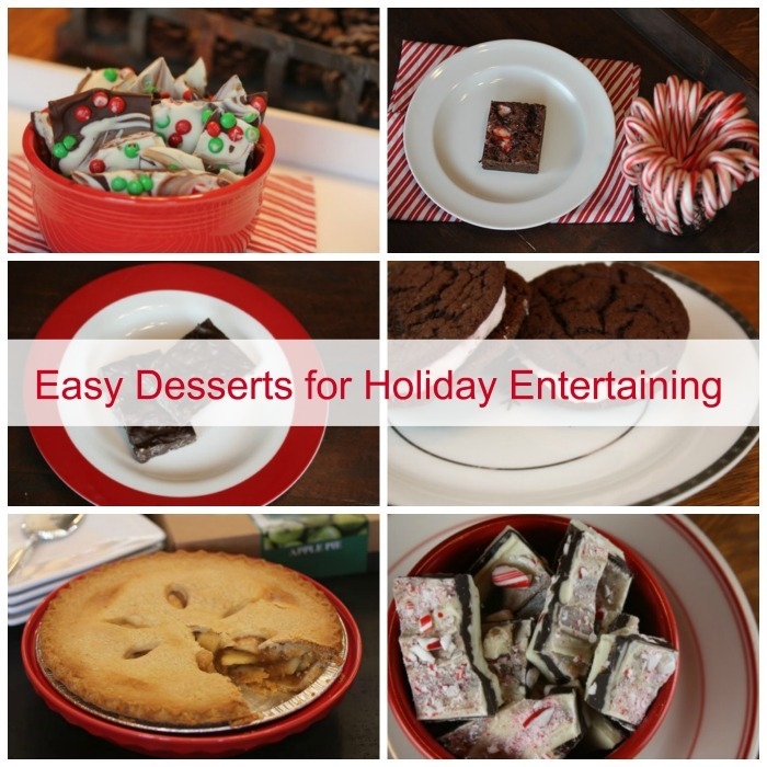 Entertaining Holidays: Holiday Entertaining With Quick And Easy Desserts And Sam