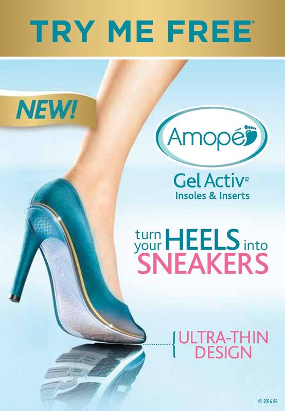 Turn your heels into sneakers with Amope! Try it free!