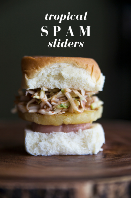 Tropical SPAM® Sliders Recipe