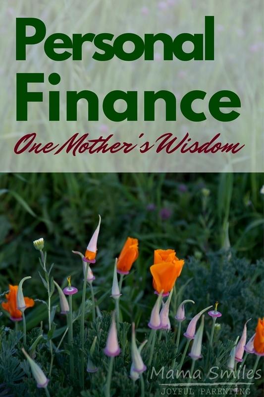 Personal Finance Advice: One Mother's Wisdom