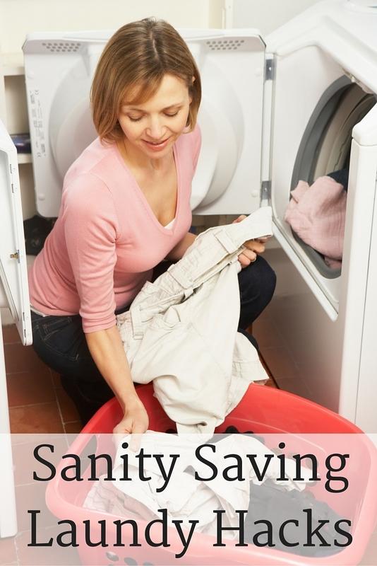 Sanity SavingLaundy Hacks