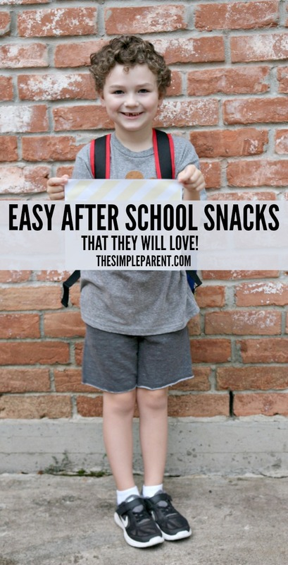 Don't worry! Easy After School Snacks can be convenient and loved by the kids!