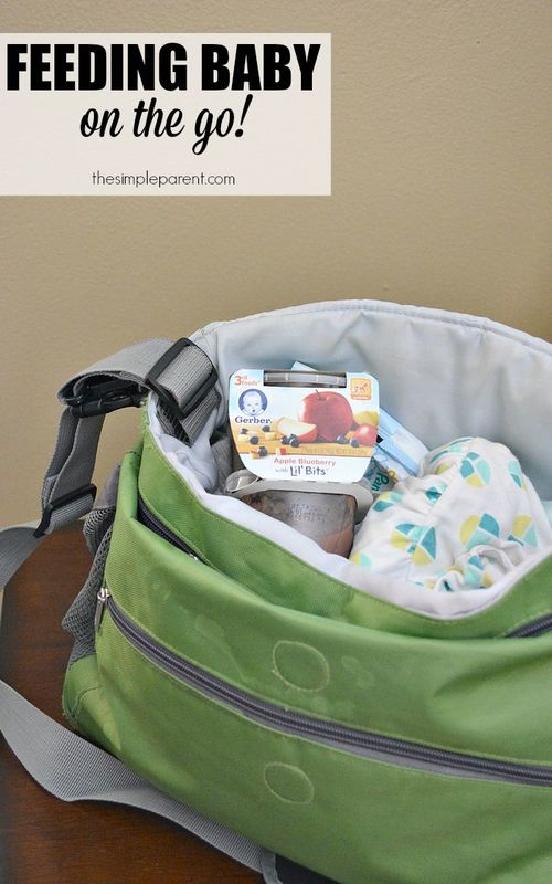 Tackle feeding baby on the go with ease by staying calm and being prepared!