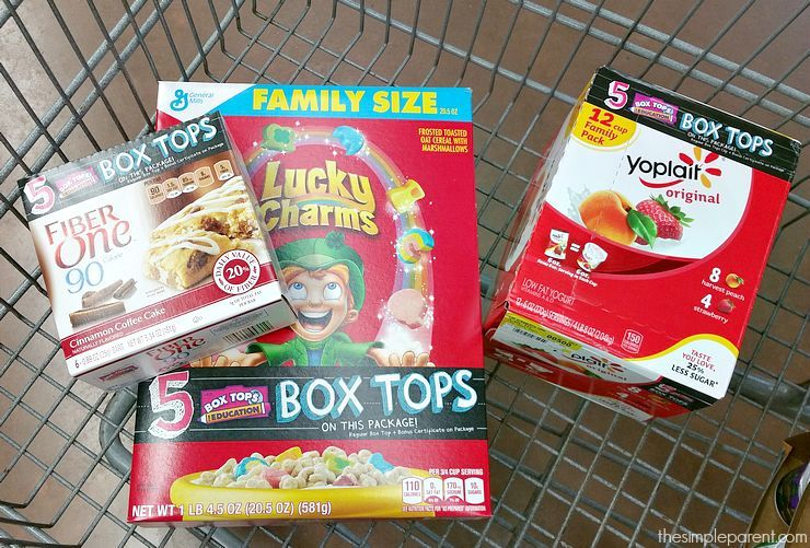 Shop for General Mills products at Walmart and get bonus Box Tops for Education to give back to your child's school!