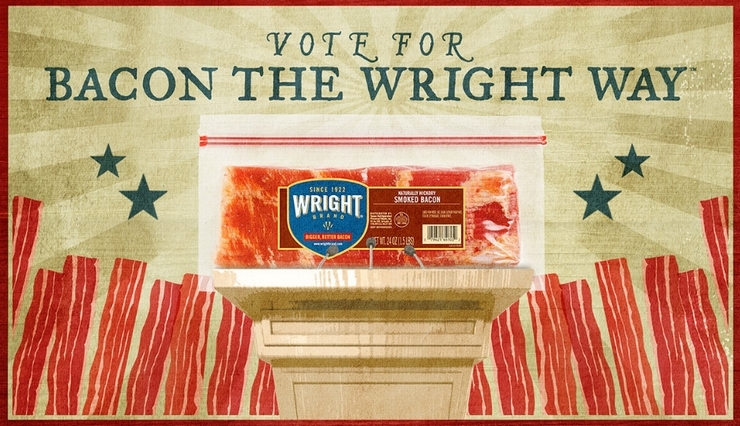 Vote for your favorite bacon!