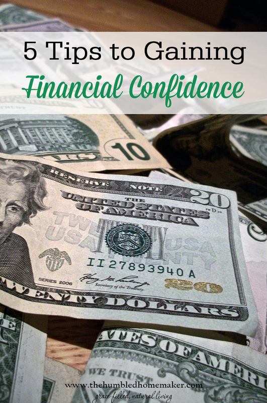 5 Tips to Gaining Financial Confidence