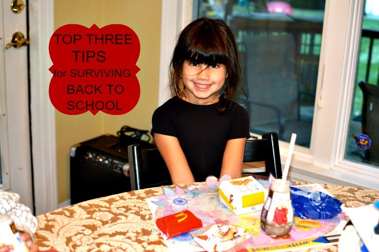 My Top Three Tips for Surviving the Back to School Season and a $25 McDonald's Arch Card #Giveaway  #HappyBalance #McDGoesB2S