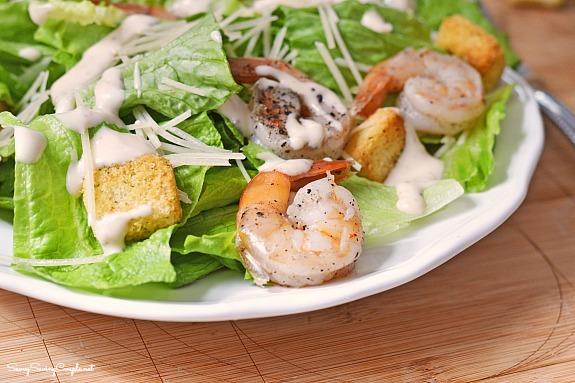 Shrimp-caesar-salad