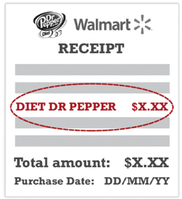 dr pepper recipt