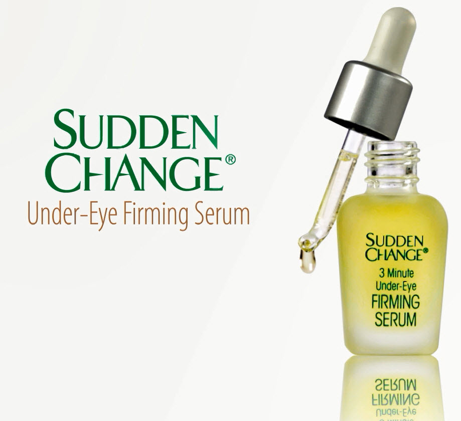 Product Review: Sudden Change Under-Eye Firming Serum - does it really reduce under-eye bags, lines, and wrinkles in just 3 minutes?