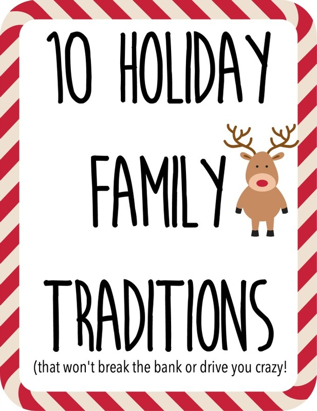10 holiday family traditions