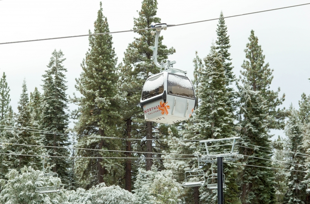 Northstar California Ski Resort Gondola