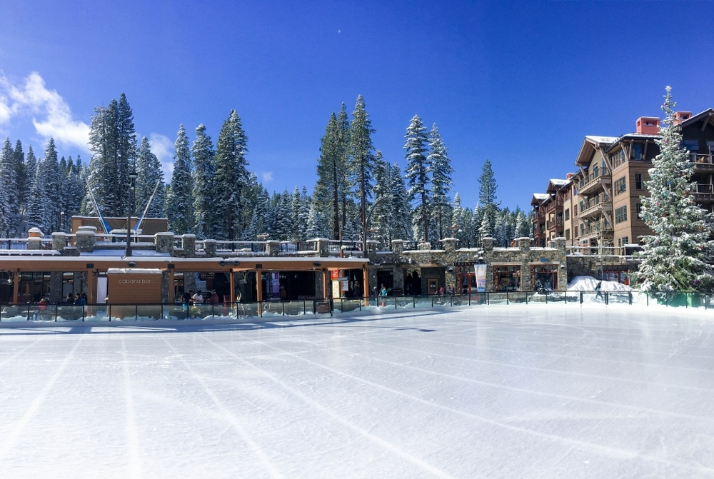 Ice Rink at the Village at Northstar California