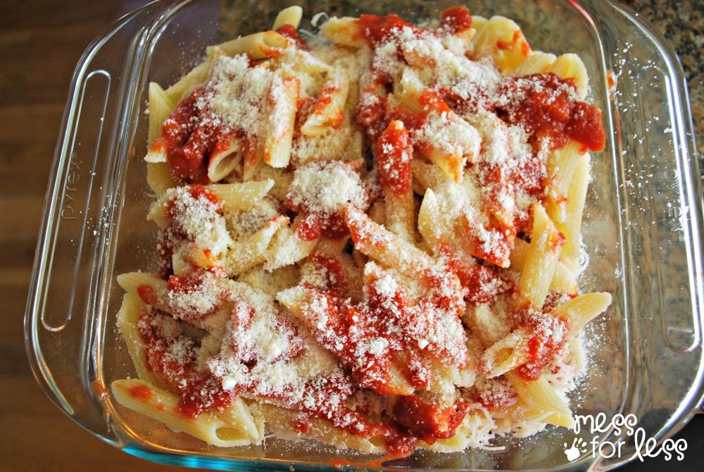 cheesy chicken and pasta