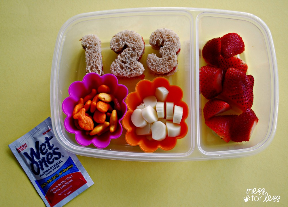 1st Day of School lunch for kids AD #wishihadwetones