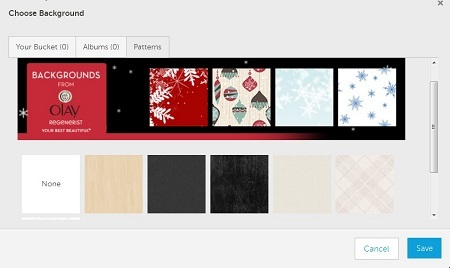 Olay Photobucket Holiday Backgrounds