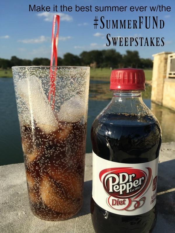 Summer Fun with Diet Dr Pepper at Walmart #SummerFUNd