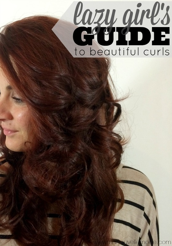 Enjoyable Lazy Girls Guide To Curls Ma Nouvelle Mode Hairstyle Inspiration Daily Dogsangcom