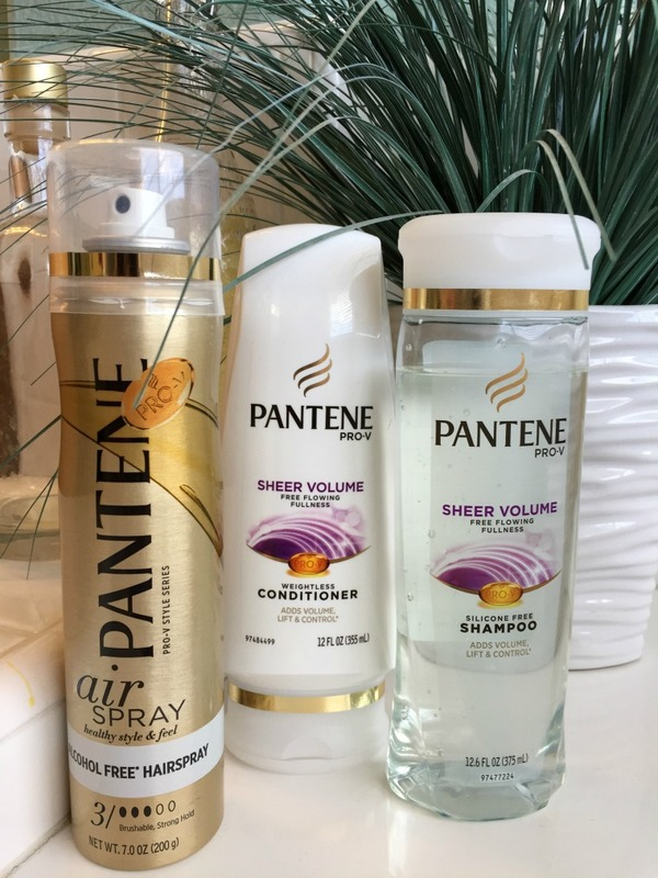 pantene prov sheer volume