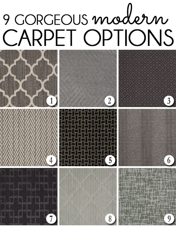 Modern Carpet Options