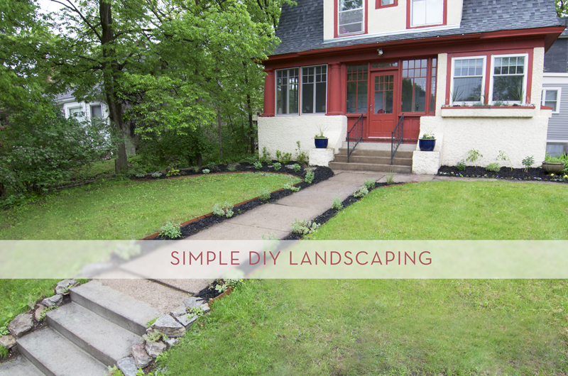 Adding Curb Appeal With Simple Diy Landscaping 187 Curbly