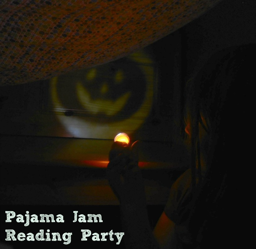 Plan a pajama sleepover party with spooky books, treats, and Halloween shadow puppets.