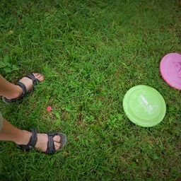 How to play disc golf and get kids moving.