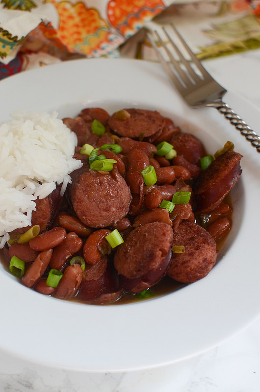 Red Beans and Rice - the ultimate comfort food! Easy and cheap!