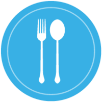 Cutlery badge