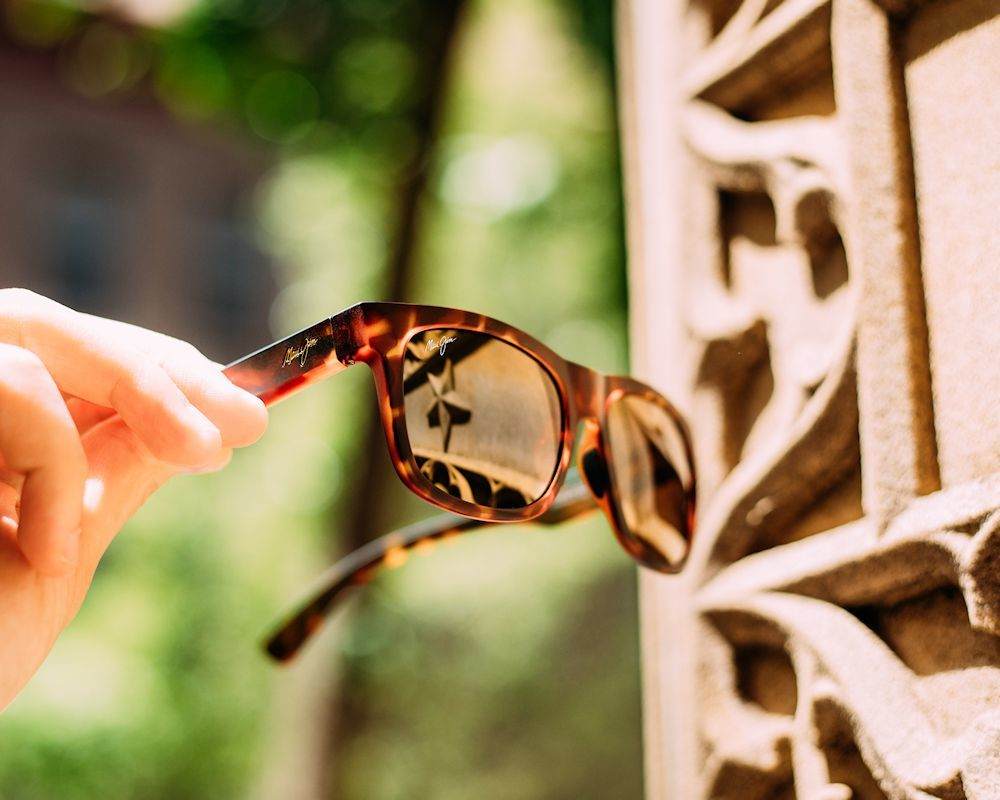 maui jim sunglasses with mauifilter in snapback model