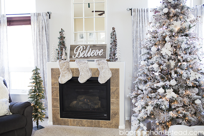 Beautifully styled Christmas decor for under $100!