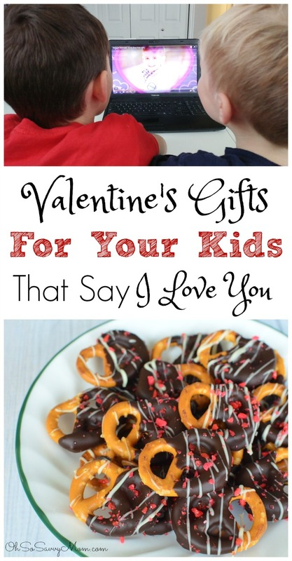 Valentine's Gifts for Your Kids that say I Love You