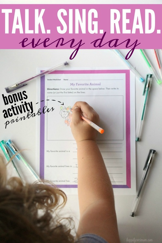 Love these printables! What an easy way to track this with our kids. It really is something that is so important for our little one's brains - worth tracking like this and I LOVE the frame with the white erase market! #First5CA #ad