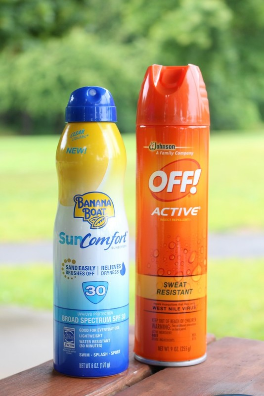 Banana Boat® sunsceen and OFF® Bug Spray