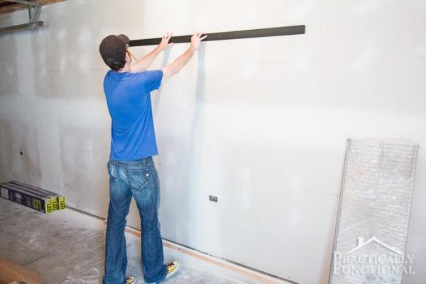 Garage Remodel Progress Main Floor