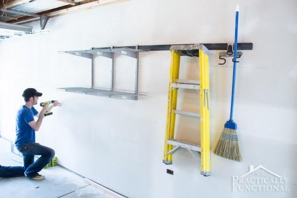 Garage Remodel Progress Main Floor-3