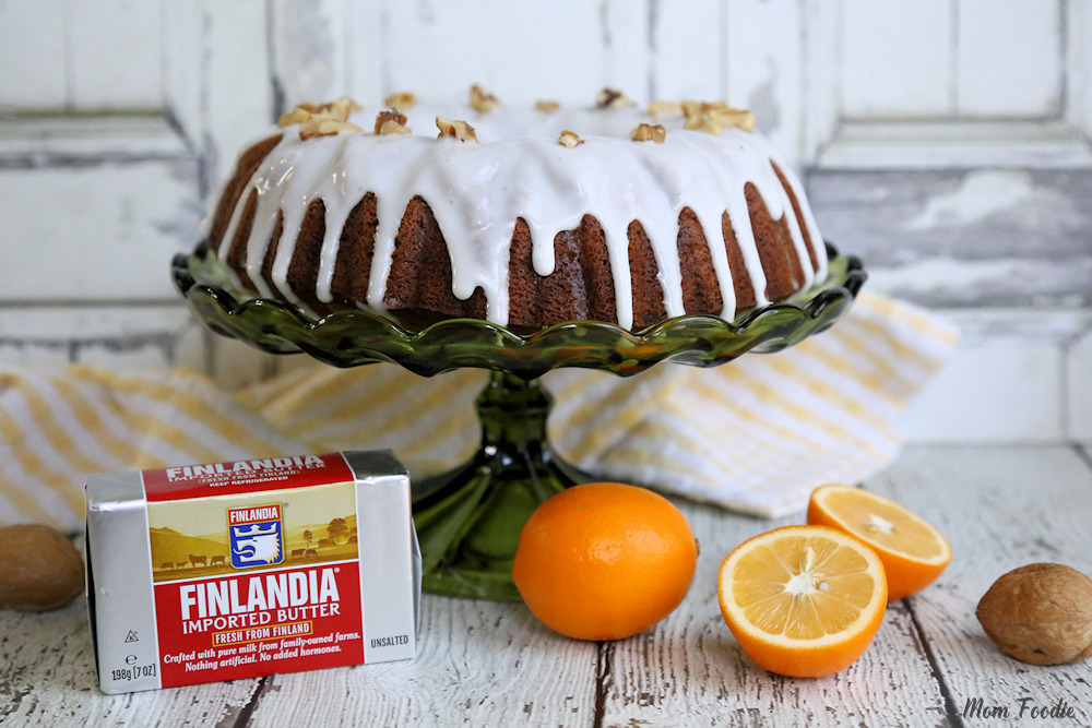 Walnut Meyer Lemon Bundt Cake Recipe