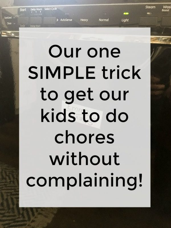 how to get teens to do chores with no complaining