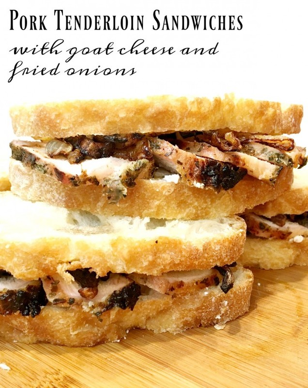pork-tenderloin-sandwiches-with-goat-cheese-and-onions