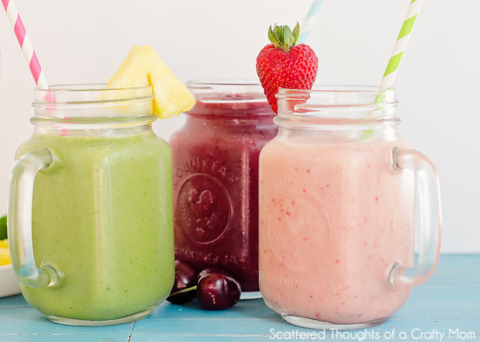 smoothie recipes with almond milk