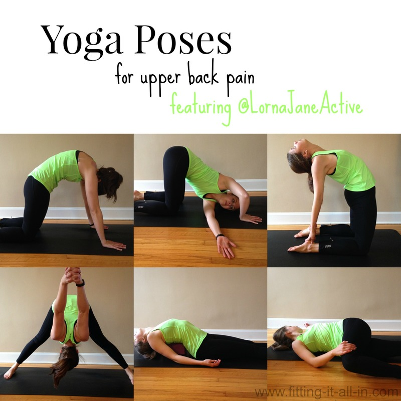 Yoga Poses For Upper Back Pain Lorna Jane Giveaway