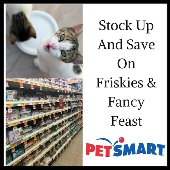 Stock Up And Save On Cat Food #PetSmartCart