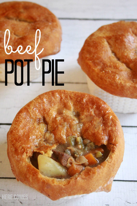 You NEED to try this amazing beef pot pie recipe!