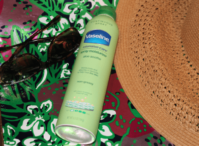 Beachbag Essentials-Vaseline Intensive Care Aloe Soothe Spray Moisturizer