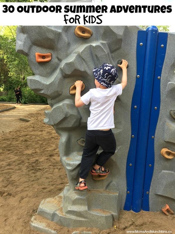 outdoor summer adventures for kids