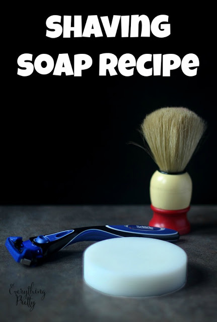 DIY Shaving Soap Recipe for Men